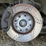 Vented Brake Disc and Caliper